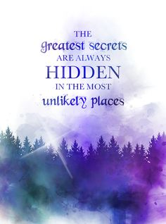 The greatest secrets are always hidden in the most unlikely places, Quote, ART PRINT, Roald Dahl, Inspirational, Motivational, Nursery, Wall Art, Home Decor, watercolour, gift ideas, quotes, birthday, christmas, forest #Quote #ARTPRINT #RoaldDahl #Inspirational #Motivational #Nursery #WallArt #HomeDecor #watercolour #giftideas #quotes #birthday #christmas #forest
