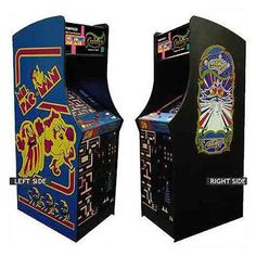 Ms. Pacman Galaga Classic Arcade 24in Upright Game | http://www.cybermarket24.com/ms-pacman-galaga-classic-arcade-24in-upright-game/