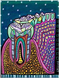 Painting by Heather Galler. Dentists in Art....... Dentaltown Message Board > Leisure > Art > http://www.dentaltown.com/MessageBoard/thread.aspx?s=2&f=375&t=221115&pg=1&r=3611253 #DentalArt #DentistArtist #Dentaltown Google+