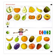 Match the fruit halves to the full fruit Montessori Activities, Preschool Worksheets, Craft Activities For Kids, Things That Go Together, Educational Games For Kids, Mini, Pre School, How To Stay Healthy, More Fun