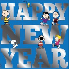 HAPPY NEW YEAR - Snoopy and the Peanuts Gang celebrating the new year - Charlie Brown, Lucy & Linus Van Pelt, Snoopy, Marcie and Sally Brown Snoopy Happy New Year, Happy New Year 2018, New Year Wishes, Happy Year, Happy 2015, Peanuts Snoopy, Snoopy Et Woodstock, Peanuts Cartoon, Charlie Brown Y Snoopy