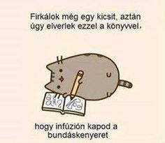 vicces, humor, poén Pusheen Cat, Bad Memes, Funny Pins, Funny Moments, I Laughed, Quotations, Funny Jokes, Haha, Have Fun