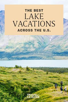 #America offers a #lakevacation for every #season and #activity, and no matter where you live, chances are there's one near you. #travel #domestictravel #summervacation #lake #adventure #greatoutdoors Vacations In The Us, Best Family Vacations, Road Trip Usa, Romantic Getaway, Adventure Travel, Need To Know, Travelling, This Is Us, France