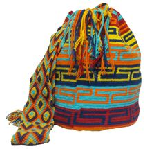 www.mochilaswayuubags.com whatsapp +57 320 345 9226  #wayuu #crochet #handmade #crochet #boho #bohostyle #bohochic #hippie #cartagena Tribal Bags, Tapestry Bag, Crochet Projects, Boho Fashion, Boho Chic, Scarves, Crochet Hats, Purses, Cartagena