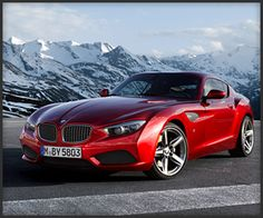 #BMW Zagato Coupé  A one-off vehicle made in partnership with Italian coachbuilder Zagato, this coupé is based on the BMW Z4 and has a hand-built aluminum body with mesmerizing curves and paint work