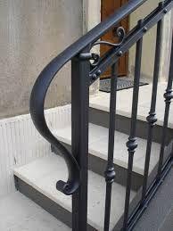 Image result for escalera de exterior hierro forjado