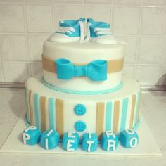 Battesimo torta