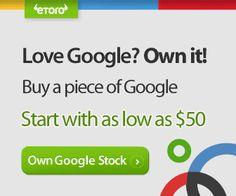 Love Google? Own it! Financial Markets, Marketing, Love, Google, Amor