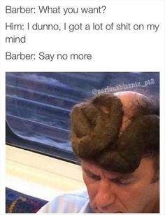 """Say No More. 29 of the Worst Haircuts We've Ever Meme'd - Funny memes that """"GET IT"""" and want you to too. Get the latest funniest memes and keep up what is going on in the meme-o-sphere. Funny Quotes, Funny Memes, Jokes, 5sos Memes, Funny Fails, Epic Fail Pictures, Funny Pictures, Creepy Pictures, Barber Say No More"""