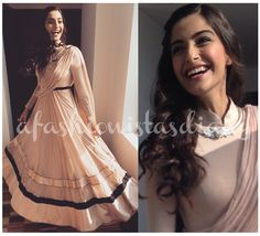 If I haven't mentioned it before, the best thing about Sonam Kapoor promoting 'Dolly Ki Doli' is that she is wearing more Indian clothes. Not only does she pick the best International clothe...