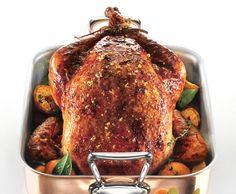 Clementine-Salted Turkey with Redeye Gravy