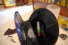 Make A Purse From Vinyl Records ∙ How To by Stacie G. on Cut Out + Keep