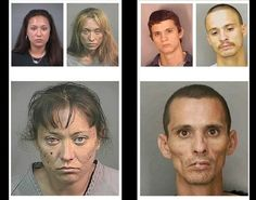 Faces of Meth - Faces of Meth: Striking infographic shows drug's terrifying toll on human body - NY Daily News