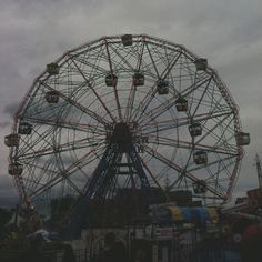 Coney Island, Brooklyn - The Wonder Wheel    Ferris Wheels scare the f*ck out of me.