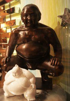 Sumo en résine http://www.caroetcie.com/home/535-sumo-en-resine.html