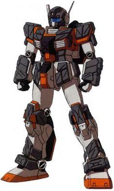 RGM-79FP GM Striker (Test Colors) - Federazione Terrestre (Manga: Mobile Suit Gundam: We're Federation Hooligans!! e Mobile Suit Gundam Katana. MSV: Harmony of Gundam. Videogioco: Mobile Suit Gundam Side Story: Missing Link.)