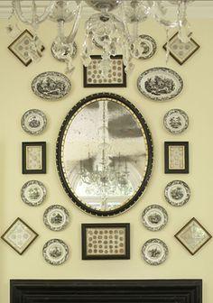 Jackye Lanham Interiors - Transferware Wall Collections