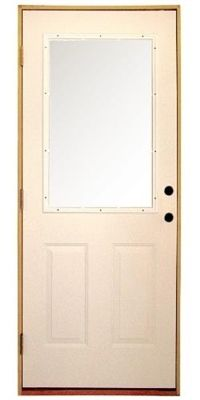 Exterior Half Lite Door Entry Doors Exterior Doors Doors