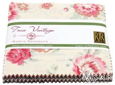 True Vintage Charm Pack from Missouri Star Quilt Co