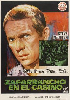 """MP1233. """"The Honeymoon Machine"""" Spanish Movie Poster by Jano (Richard Thorpe…"""