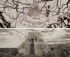 """Pottermore wizarding school in Brazil - Castelobruxo """"The Brazilian school for magic, which takes students from all over South America, may be found hidden deep within the rainforest."""" Students wear """"bright green robes and are especially advanced in both Herbology and Magizoology."""""""