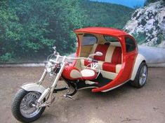 Big Beetle Trike | Custom VW Trikes