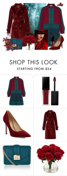 """""""COLORBLOCKING"""" by lysianna on Polyvore featuring Mode, Tory Burch, Smashbox, Sam Edelman, A.P.C., Accessorize und Nearly Natural"""