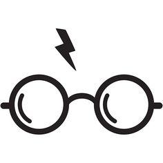 Check it out Potter Heads! Harry Potter Glasses vinyl decal sticker car truck mac - U Pick Color/Size Hery Potter, Harry Potter Decal, Theme Harry Potter, Harry Potter Birthday, Harry Potter Diy, Harry Potter Stencils, Lunette Harry Potter, Harry Potter Glasses, Anniversaire Harry Potter