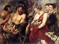 Diana Returning from Hunt, 1615 Gemäldegalerie Alte Meister