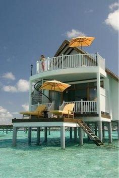 Cool Beach house!