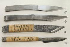 Leather Working Tools, Metal Working, Knives And Tools, Knives And Swords, Mora Knives, Japanese Tools, Knife Template, Japanese Blades, Knife Patterns