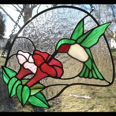 Hummingbird - Delphi Stained Glass | Stained glass | Pinterest