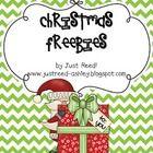 Christmas Freebies packet