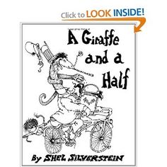 Help kids (4-5 years old) learn to rhyme.  Draw the giraffe and the boy.  As you read the poem aloud, have them add to the drawing based on the 'props' mentioned in the book.  They will remember the rhymes as they draw and review their drawing.