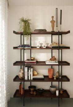 View the full picture gallery of Gasholders London Bookshelf Styling, Bookshelves, Bookcase, Luz Natural, Up Styles, House Styles, Reading Room, Shelving, London