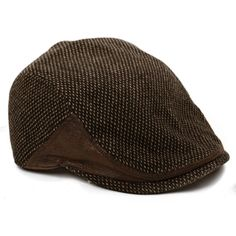 00417609210  The Brawler  Scally Cap- Brown