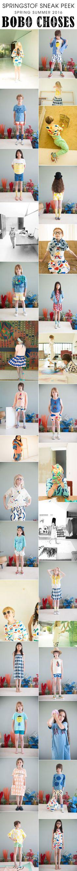 BOBO CHOSES SS16  http://www.babesta.com/brands/bobo-choses.html