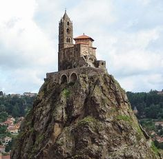 Saint-Michel d'Aiguilhe Chapel - The Oldest Chapel Of Le Puy, France