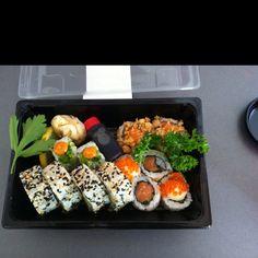 Great take away sushi from Karma Sushi in Denmak.