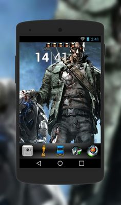 Terminator theme for Android Phone  http://androidlooks.com/theme/t0849-terminator/  #Terminator, #android, #androidthemes, #customization,  #goLauncher