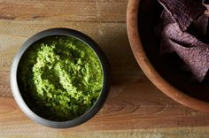 Smashed Pea Guacamole with Cilantro, Ginger and Lime, a recipe on Food52