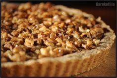 Garnkofilia: TARTA BANANOWO-ORZECHOWA - bez glutenu, jajek i cukru