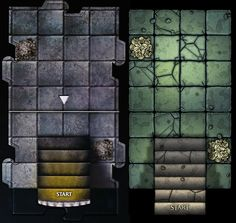 Custom tile set WIP | Dungeons & Dragons: Castle Ravenloft Board Game | BoardGameGeek