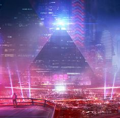 """cosmicwolfstorm: """" Neos City by jordangrimmer """""""