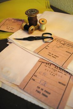 costura antiga tesoura PAFF
