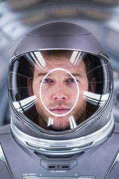 Chris Pratt in Passengers (2016).
