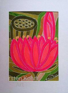 Mischtechniken - LOTOS-KIRSTEN KOHRT -ART - ein Designerstück von KIRSTEN-KOHRT-ART bei DaWanda