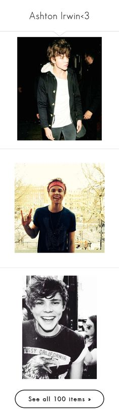 """Ashton Irwin<3"" by love-smile-laugh-1d ❤ liked on Polyvore featuring home, home decor, 5sos, ashton irwin, pictures, ashton, photos, 5 seconds of summer, mirrors and filler"
