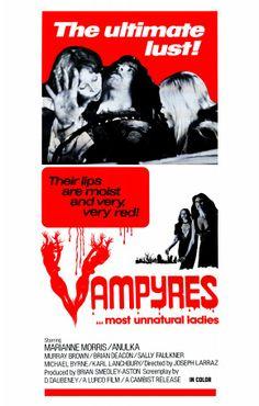 Vampyres, 1974 - USA poster