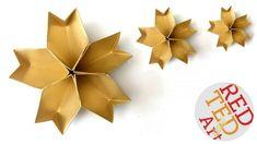 How To Make Star Origami Easy Origami Stars Red Ted Art. How To Make Star Origami Origami Modular Star Origami Star Tutorial. How To Make Star Origami How To Make Origami Star. Easy Origami Star, Origami Star Paper, 3d Paper Star, Easy Origami For Kids, 3d Origami, Useful Origami, Paper Stars, Origami Ideas, Origami Folding